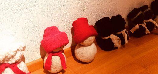 Socken Schneemann