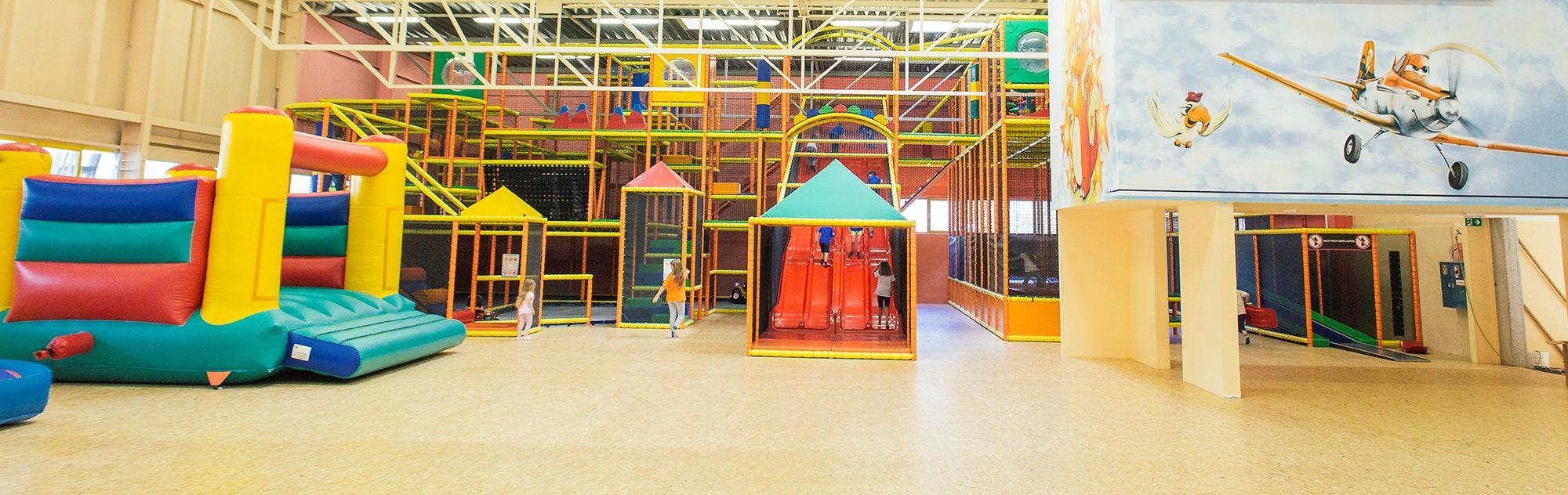 Joy - Das Kinderparadies - Indoorspielplatz / Foto: click & smile