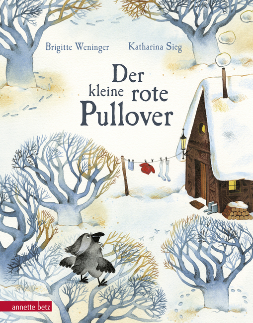 Der kleine rote Pullover - Bilderbuch von Brigitte Weninger