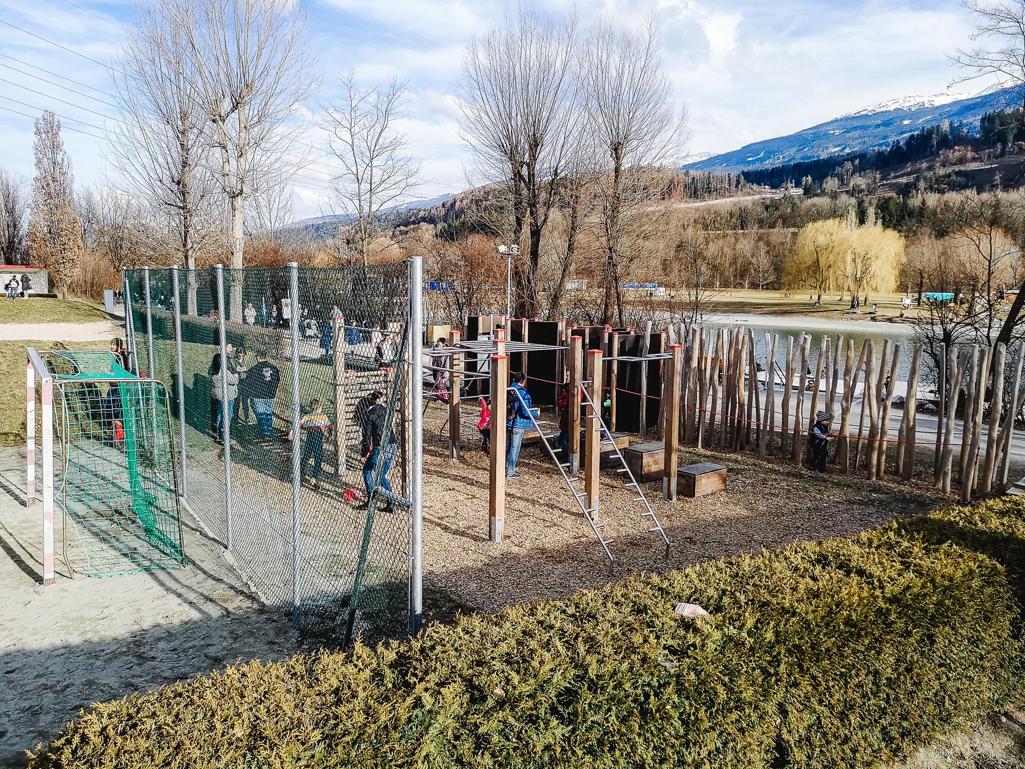 Motorikpark am Baggersee Innsbruck