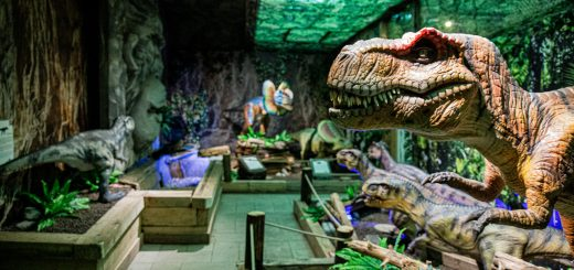 Dinoland | Vomp | Terfens | Ausflugsziel Tirol | Dinosaurier Ausstellung