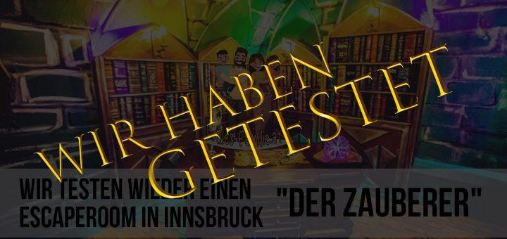 Escape Room Innsbruck bei Escapegame Innsbruck - Wir haben getestet