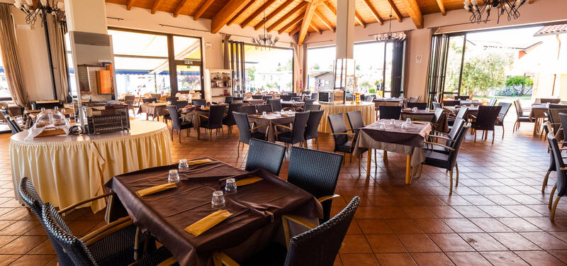 Gasparino Village in castelnuovo del Garda - Restaurant (Bild: Gasparino Village)