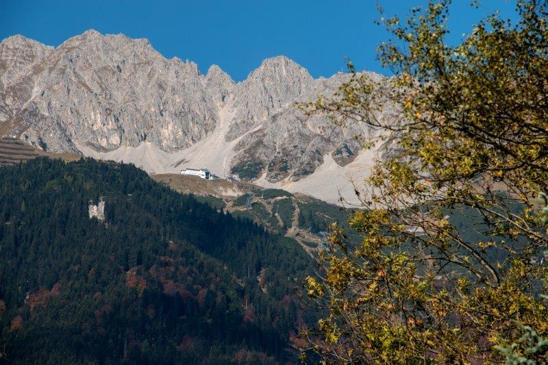 Haus Cäcilia Innsbruck | Blick Richtung Nordkette | Bild: Privat