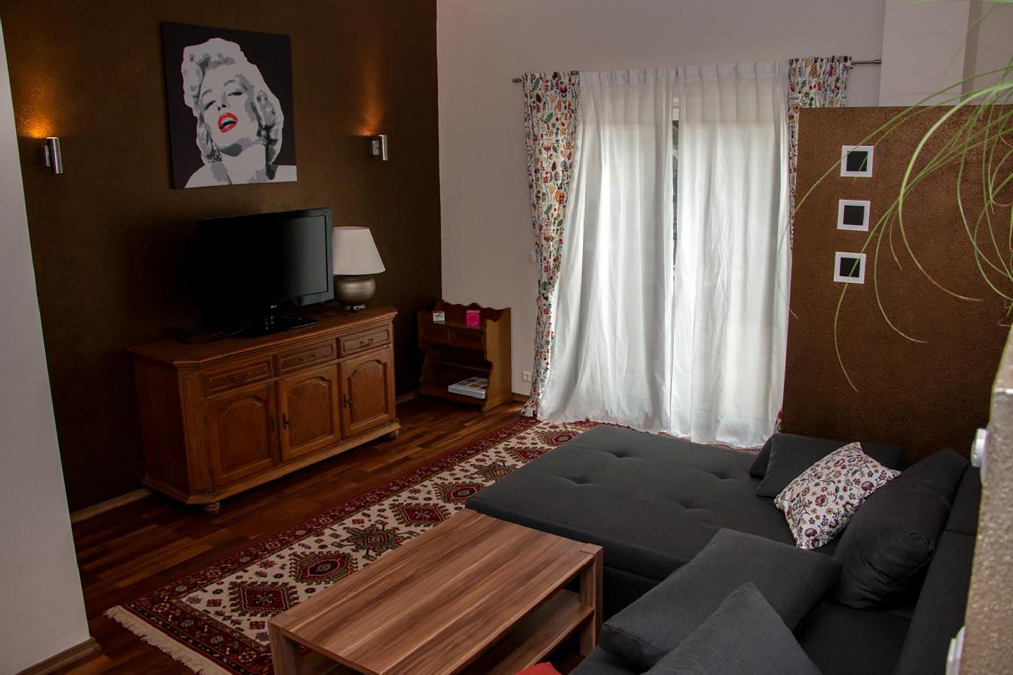 Haus Cäcilia Innsbruck | Wohnzimmer| Bild: Privat