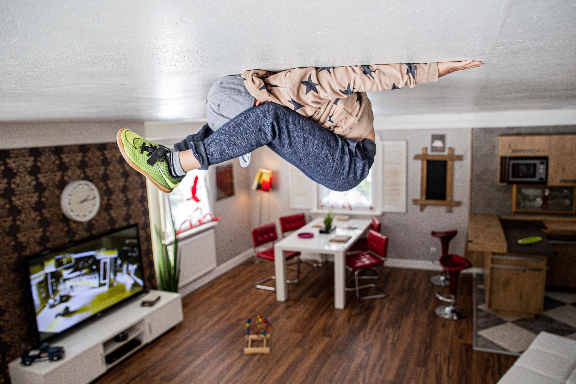 Haus steht Kopf | Vomp | Terfens | Ausflugsziel Tirol | Wohnzimmer