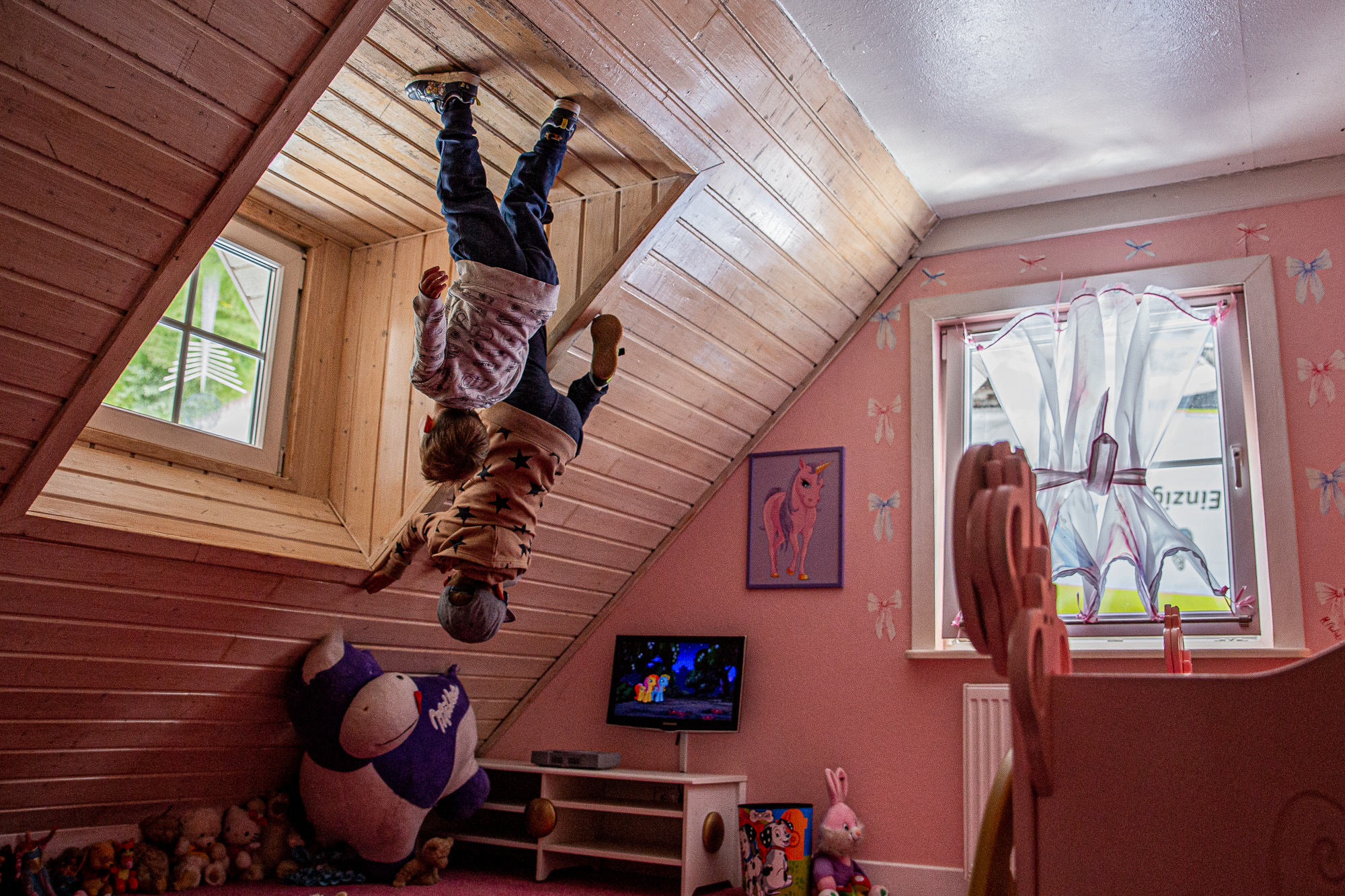 Haus steht Kopf | Vomp | Terfens | Ausflugsziel Tirol | Kinderzimmer