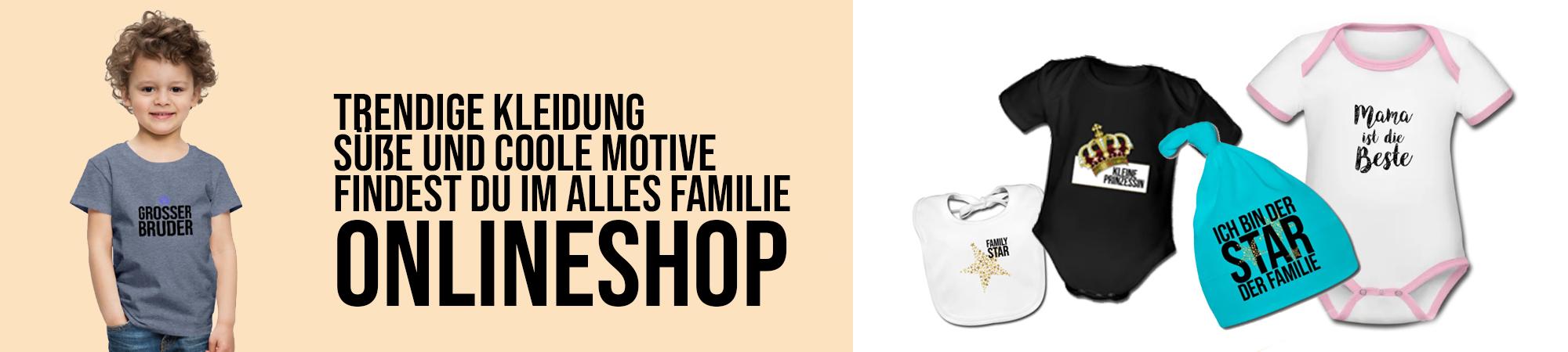 Online Shop | Alles Familie