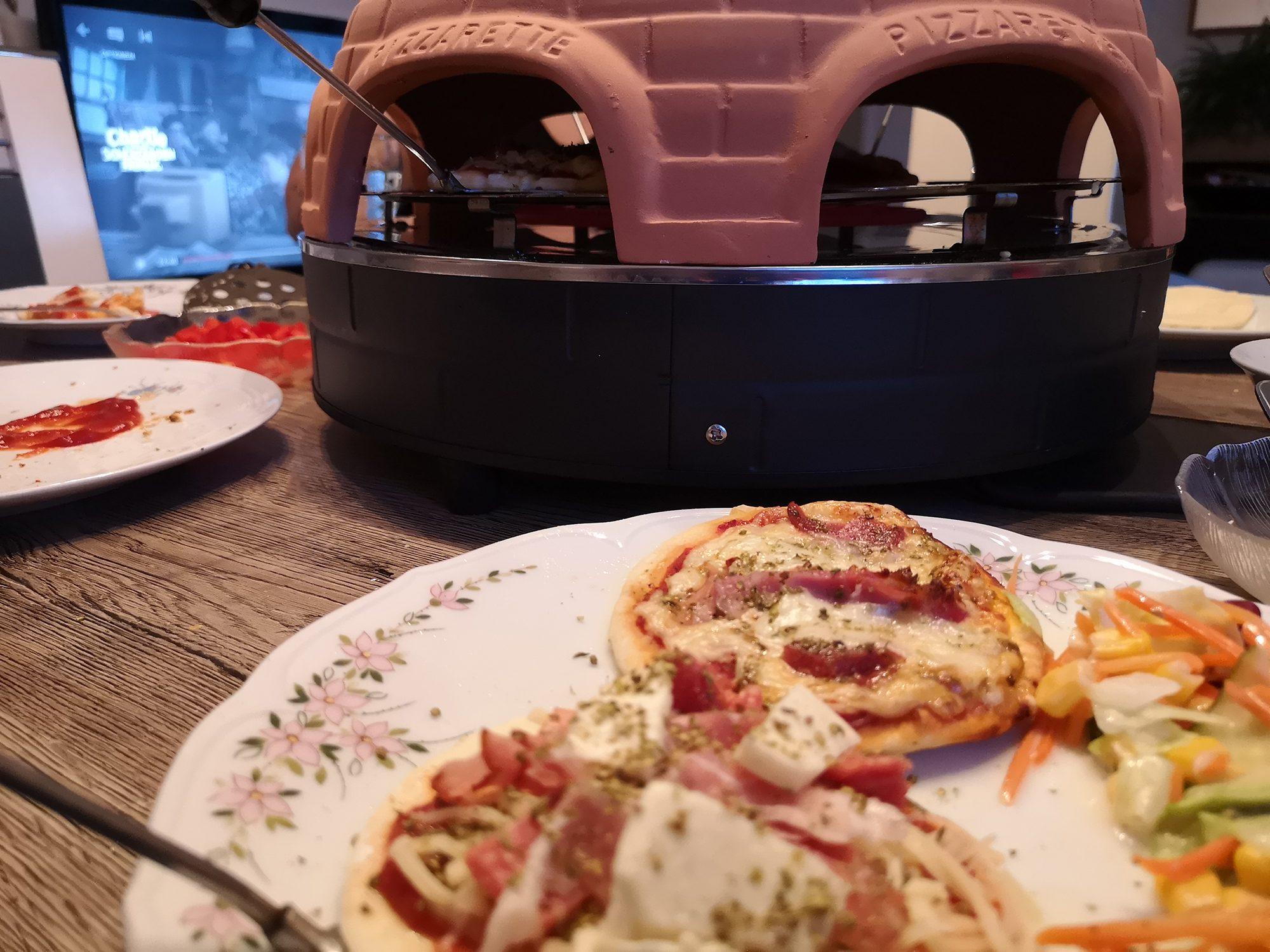 Raclette Pizzarette