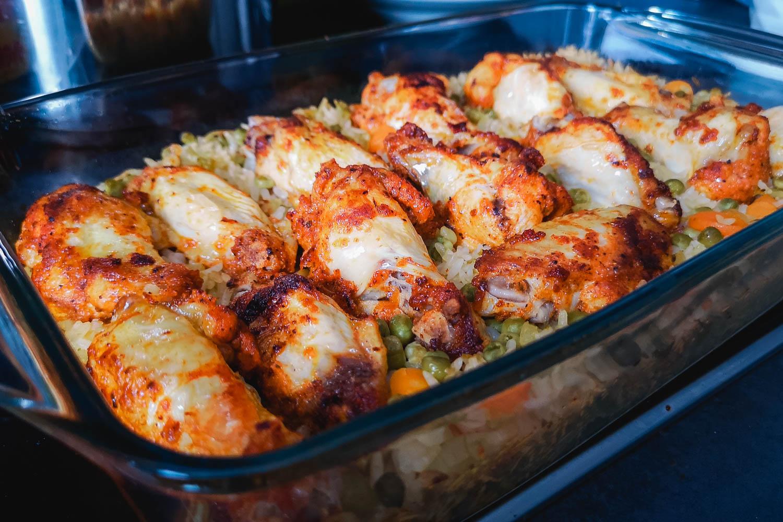 Rezept Hühnchen mit Reis