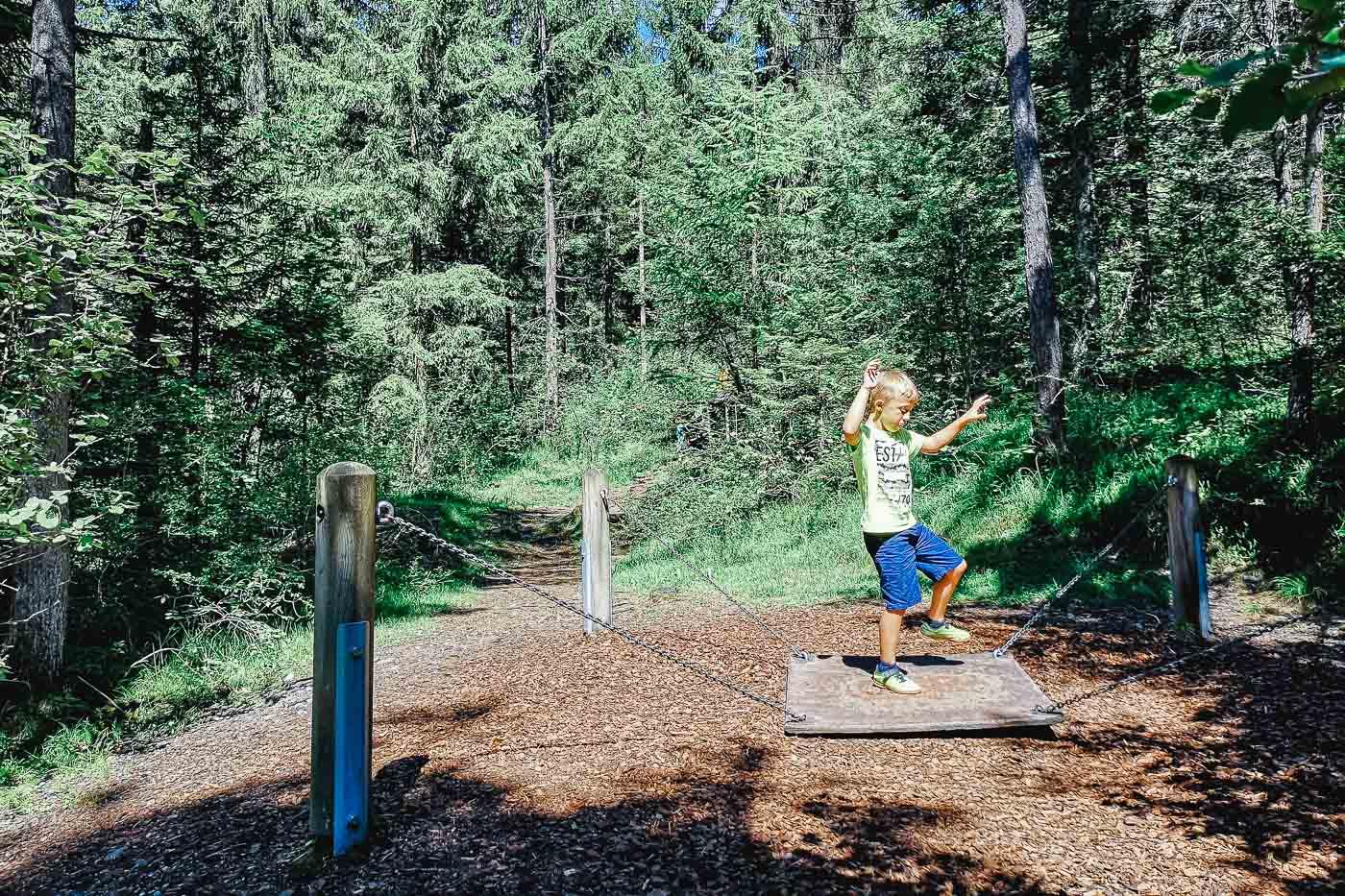 Waldspielplatz Rum | Ein toller Spielplatz bei Innsbruck
